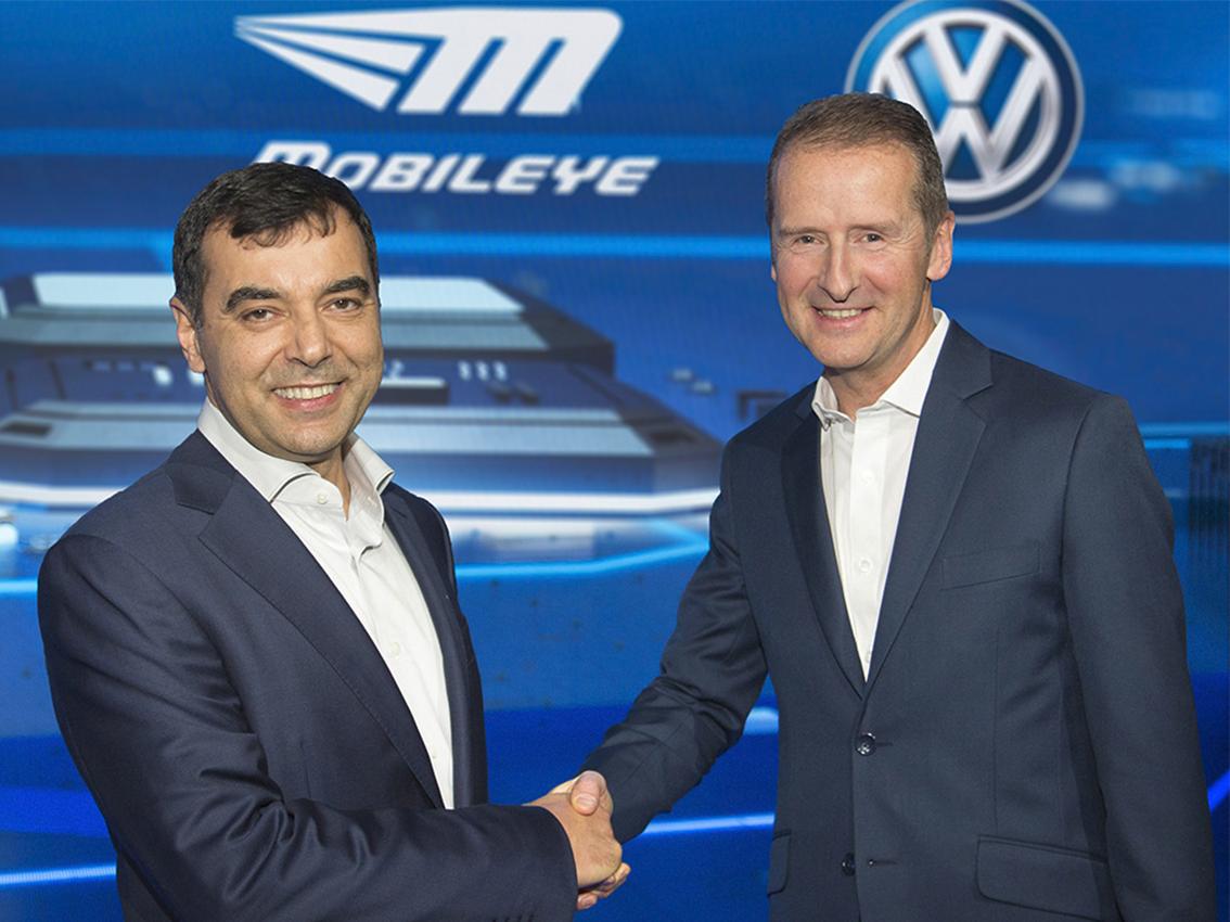 La inteligencia de enjambre de Volkswagen y Mobileye sienta las bases de la conducción autónoma