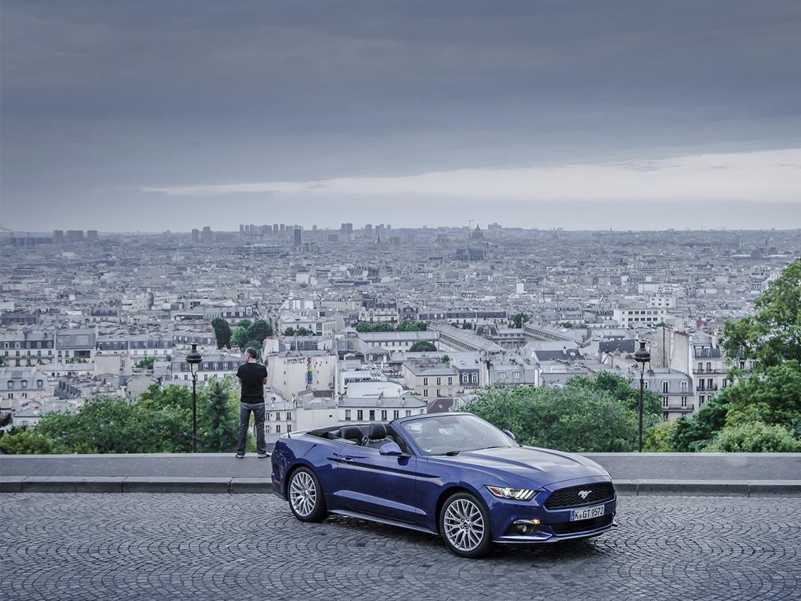 El Ford Mustang, protagonista de una versión de realidad virtual y visión de 360 grados