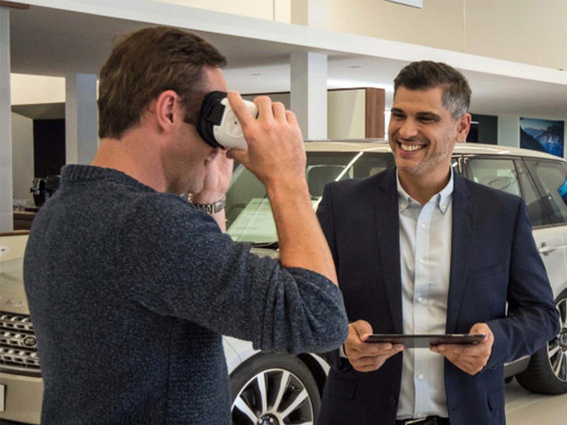 Jaguar venderá también con realidad virtual