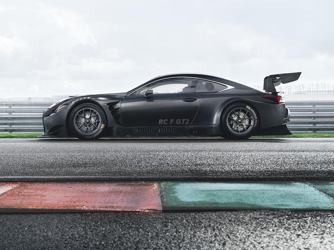 Descubra el nuevo Lexus RC F GT3 2017 en el Salón del Automóvil de Ginebra