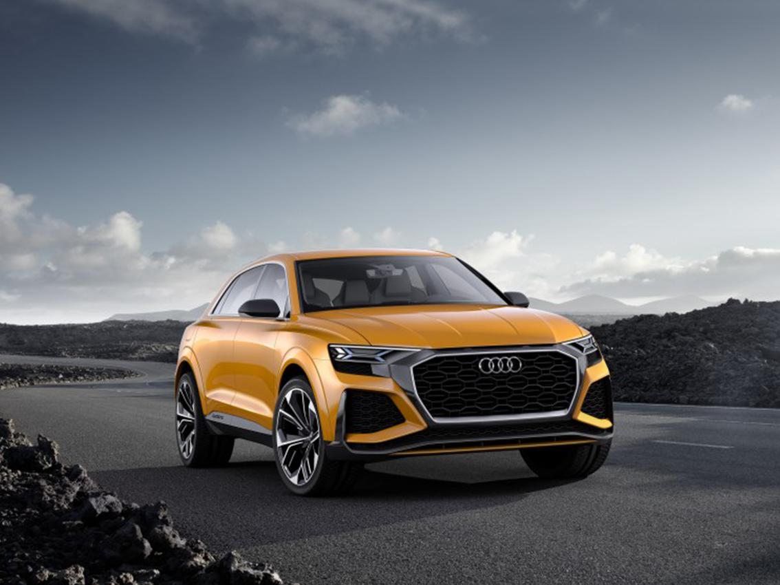 Audi Q8 sport concept: Poderoso, eficiente y multidisciplinar