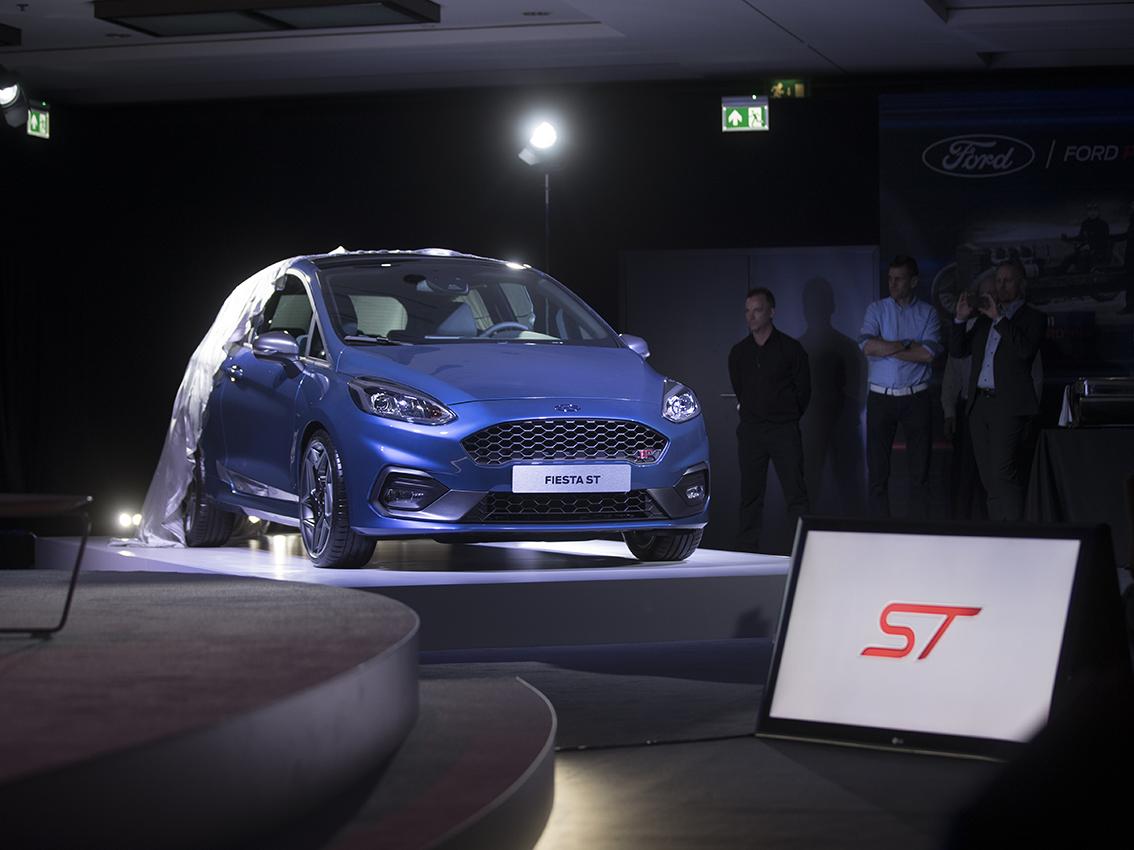 La próxima generación del Ford Fiesta ST debuta en Ginebra junto a la gama superventas Ford Performance