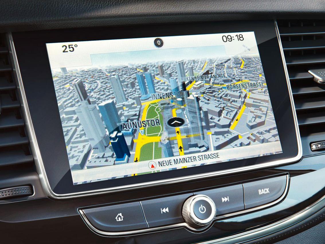 Opel incorporará Navi 80 IntelliLink para sus modelos Movano y Vivaro