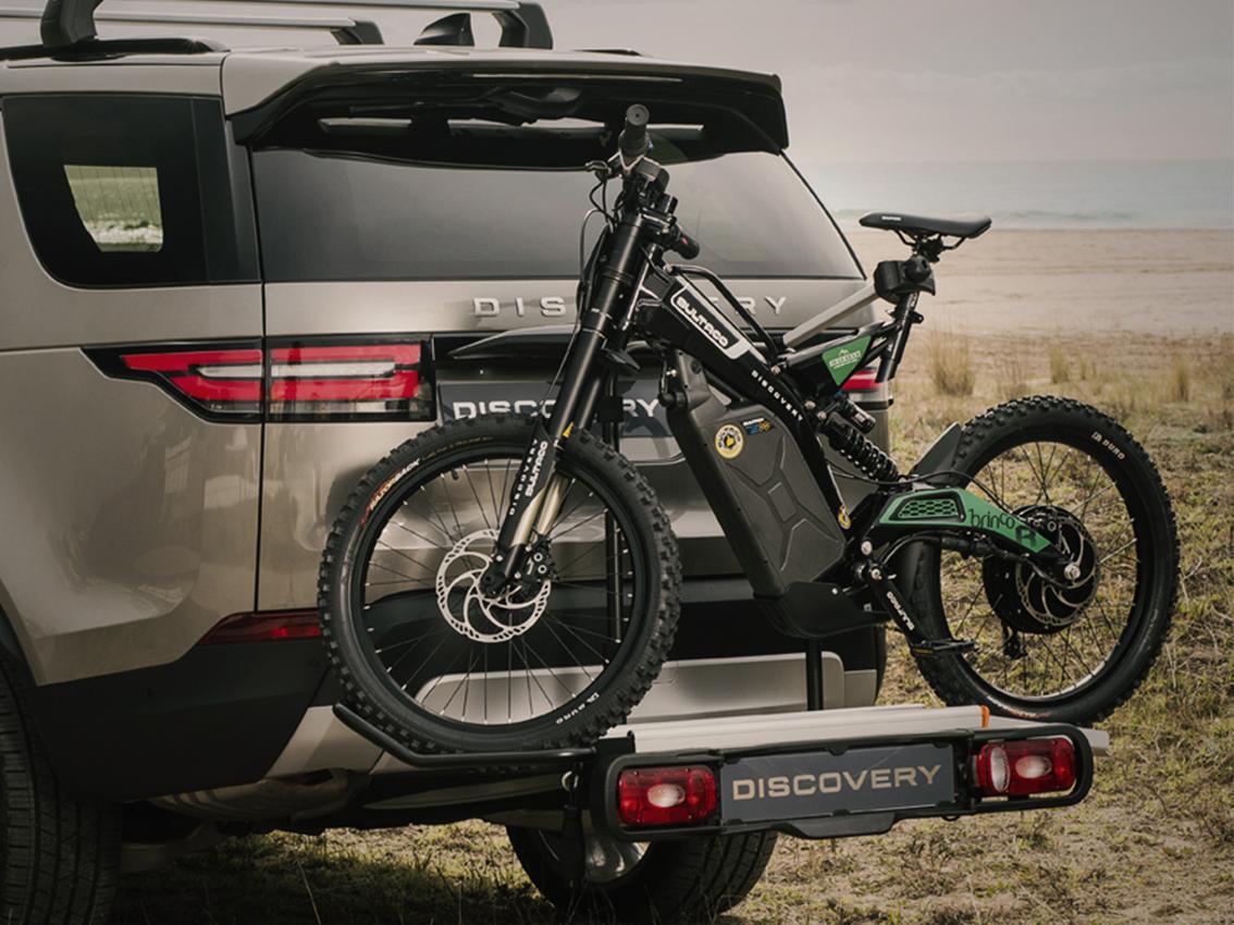 Land Rover y Bultaco lanzan una moto eléctrica en edición limitada