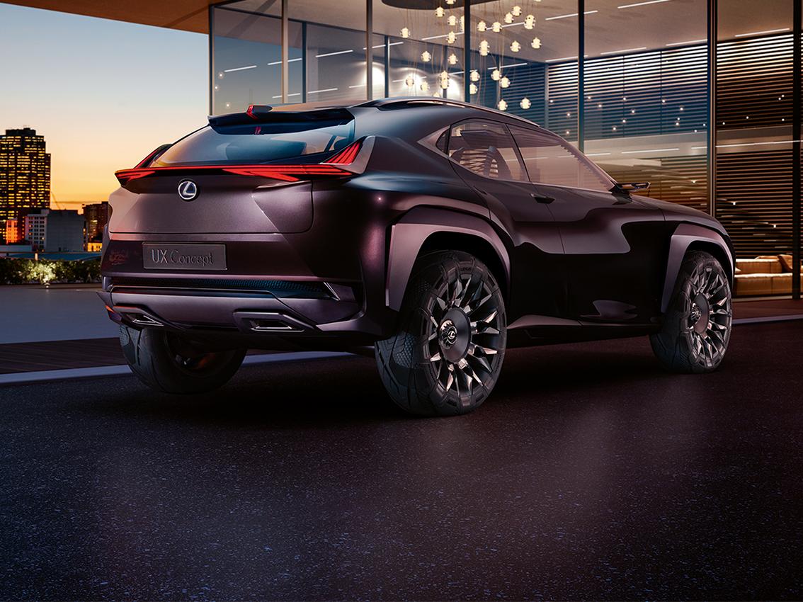 El Lexus UX Concept tendrá versión de calle