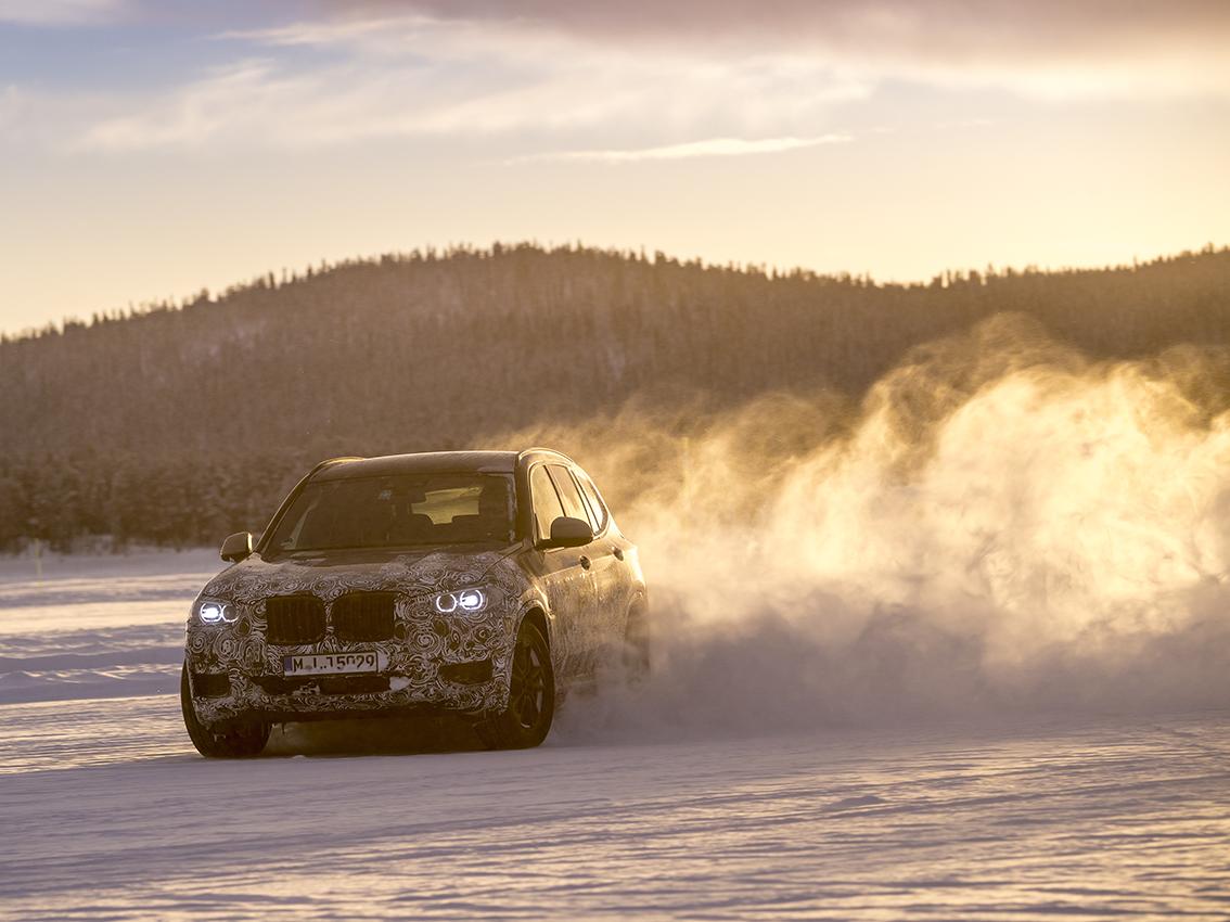 El nuevo BMW X3 supera el test invernal