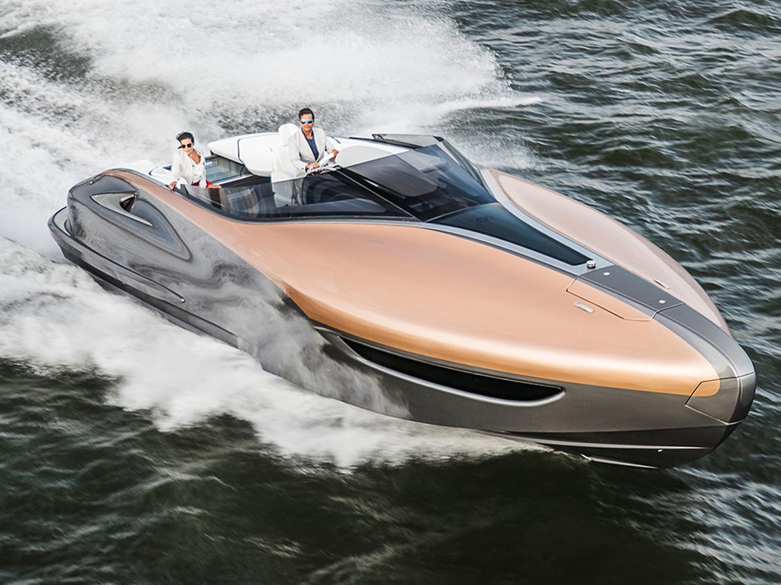 Lexus Sport Yacht, un yate de auténtico lujo