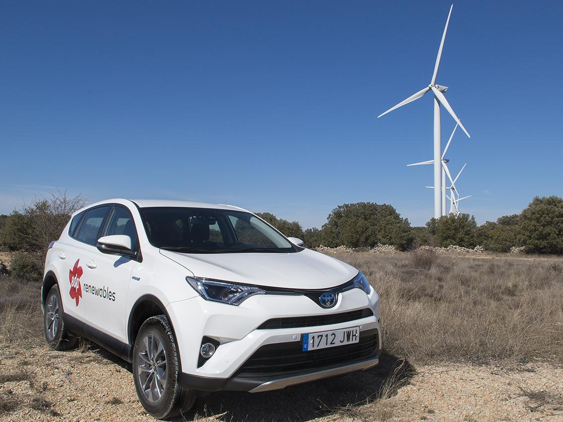 EDP Renováveis renueva su flota con un 70% de híbridos Toyota