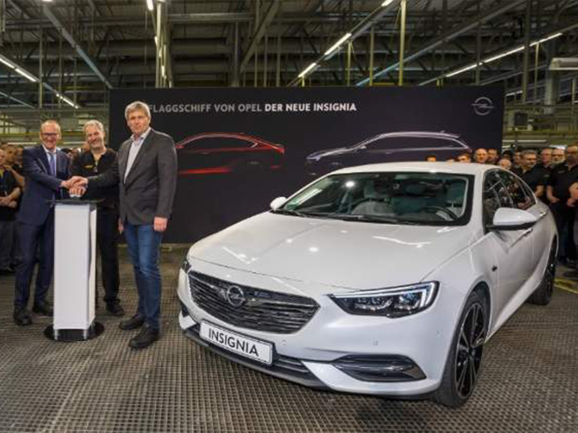 Opel inicia la producción del nuevo Insignia