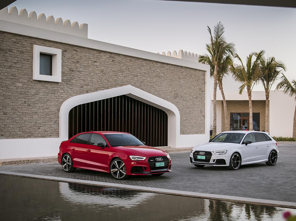 Audi RS 3 Sedan y RS 3 Sportback, atletas compactos