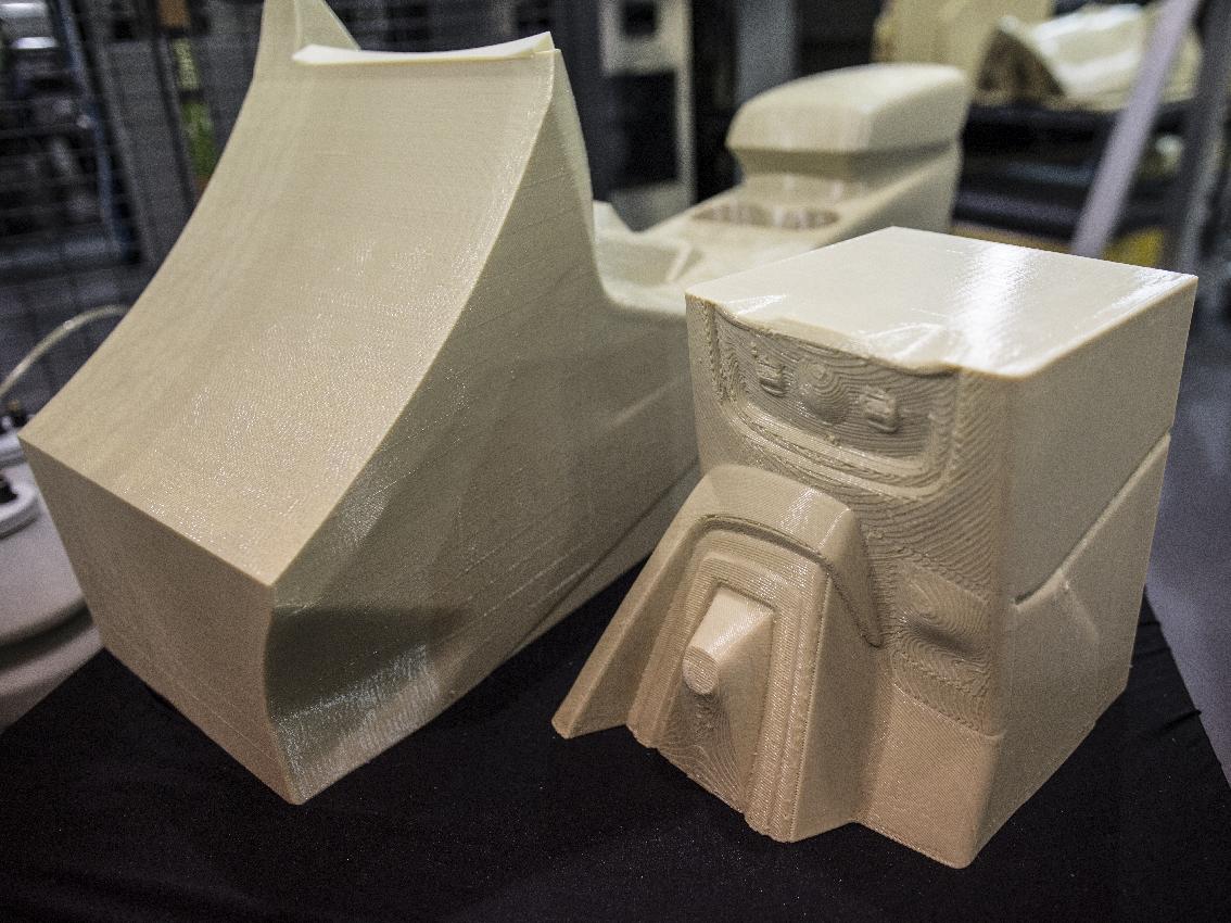 Ford prueba la impresión 3D a gran tamaño para explorar sus aplicaciones en materiales ligeros y personalización