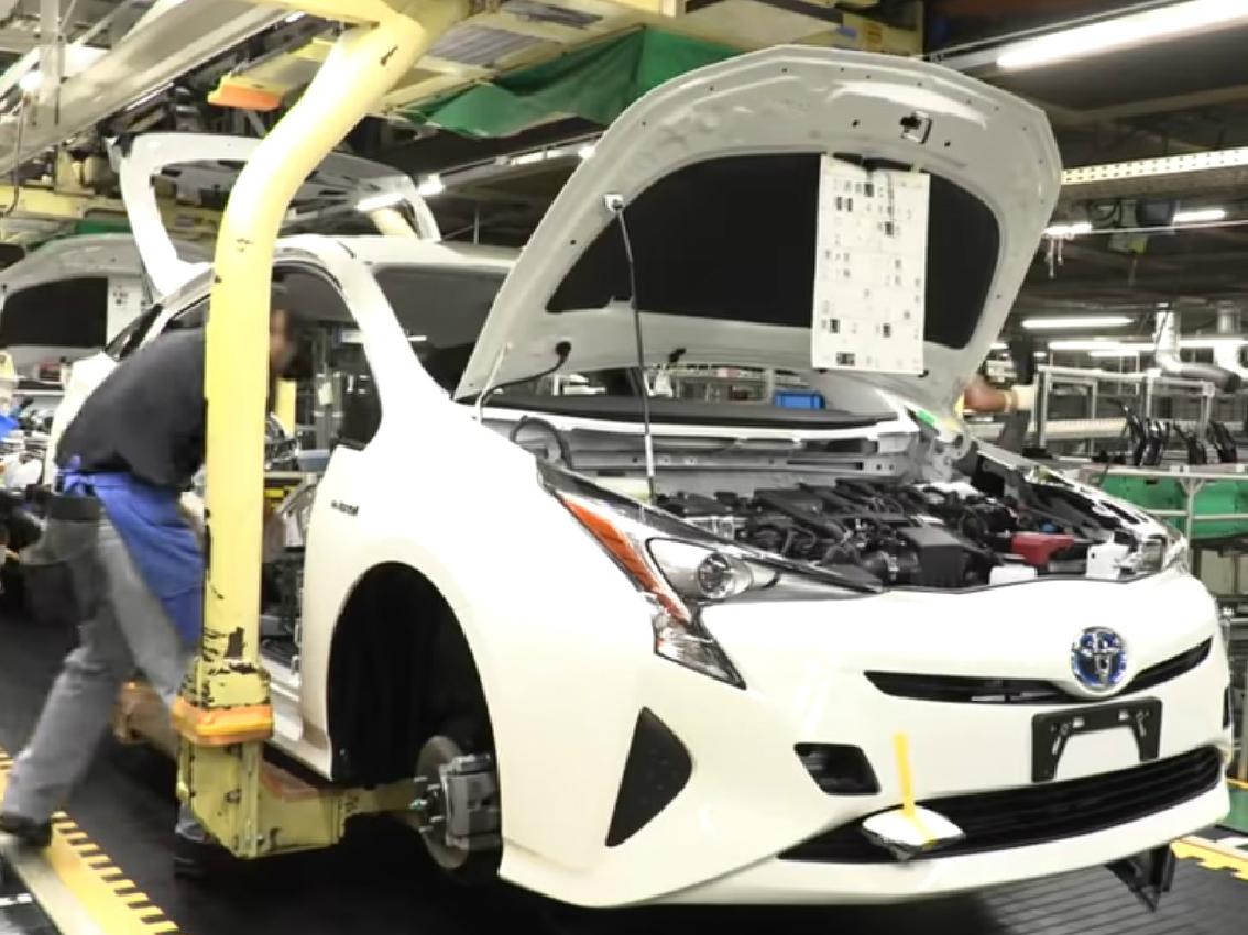 Innovación Toyota: línea de pintura un 32% más eficiente para una producción más sostenible