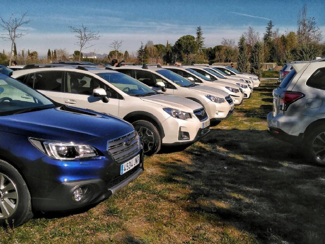 La finca 'La Marquesa´ acoge la 3ª concentración de coches Subaru