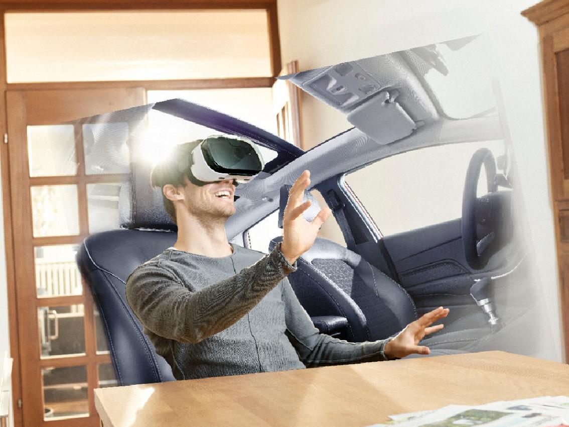 La realidad virtual permitirá probar los modelos Ford a cualquier hora y lugar