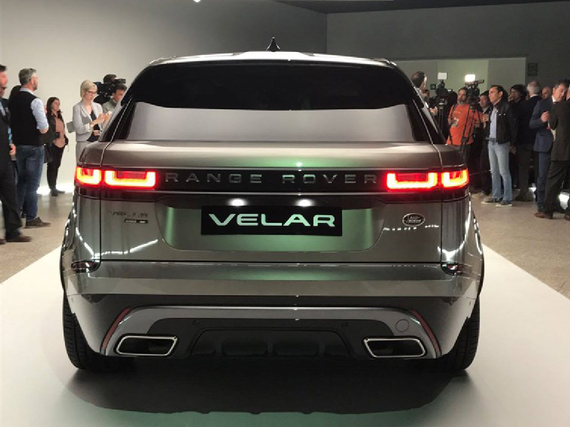 Range Rover Velar, protagonista en la Feria del diseño de Milán