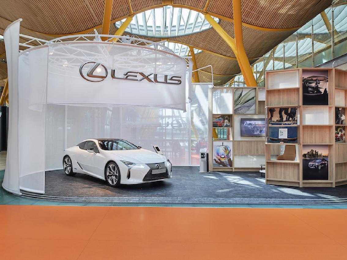 """Se inaugura en el Aeropuerto de Madrid-Barajas el concepto """"ESPACIO BY LEXUS"""""""