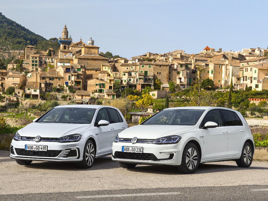 Volkswagen presenta en Mallorca los nuevos e-Golf, Golf GTE, Golf GTI Performance, Golf R y Golf Variant R