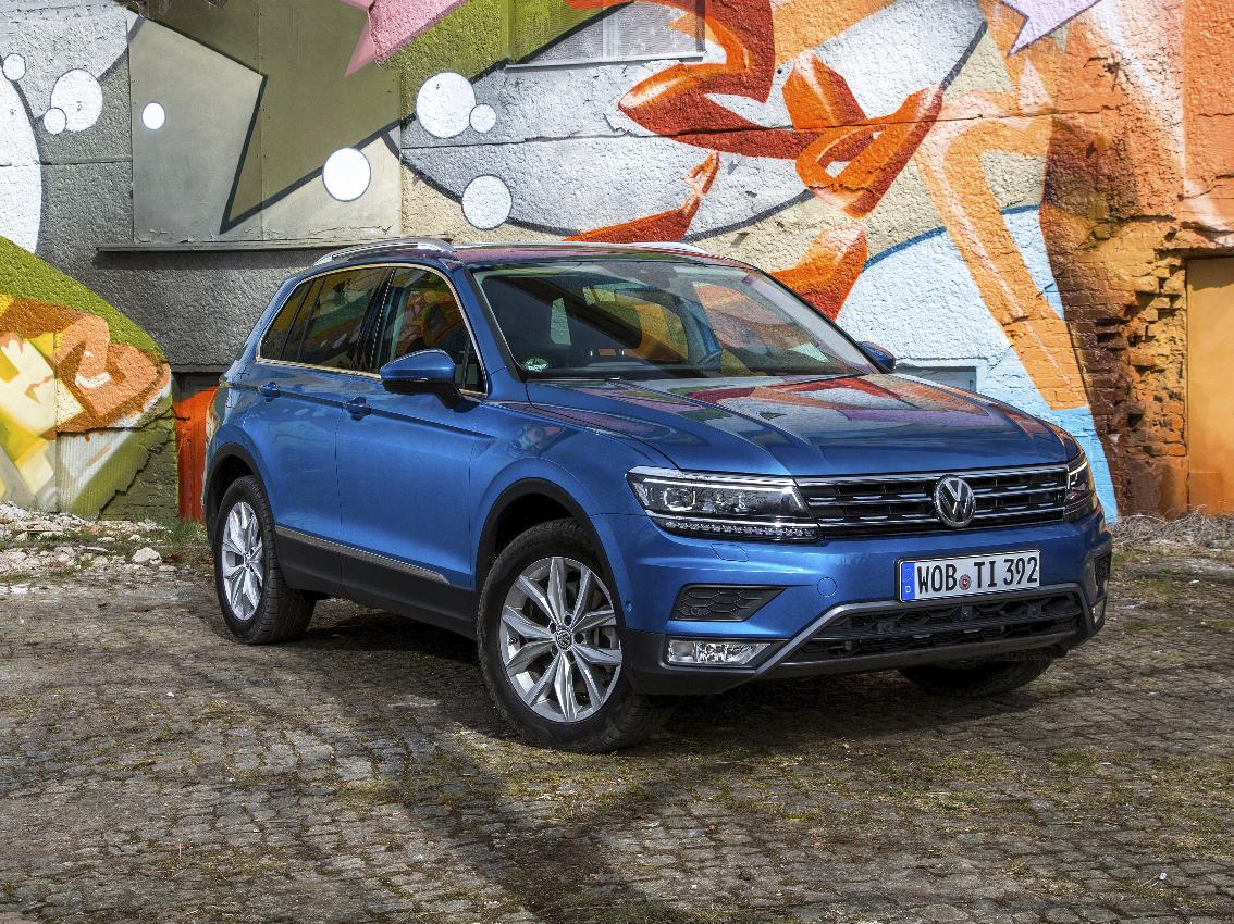 El Volkswagen Tiguan, entre los tres finalistas al Mejor Coche del Año en el Mundo