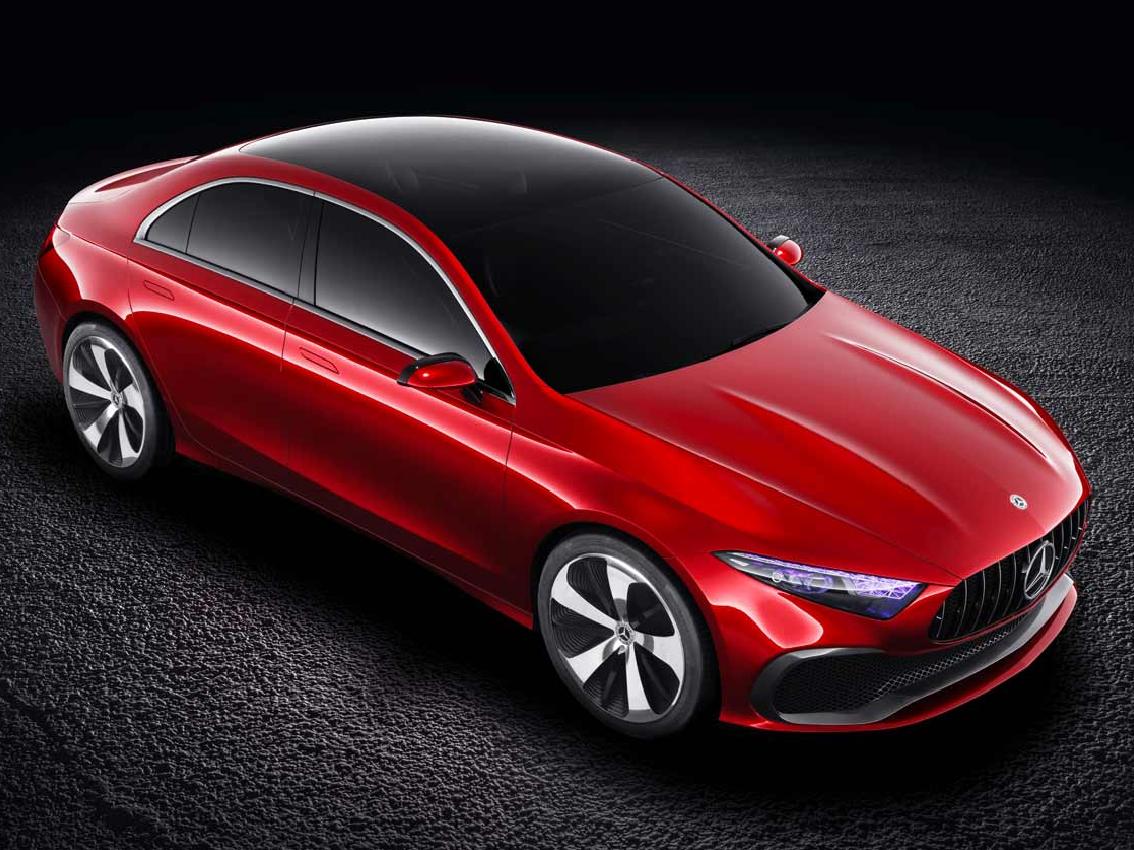Mercedes muestra en Shanghái el Concept A Sedan