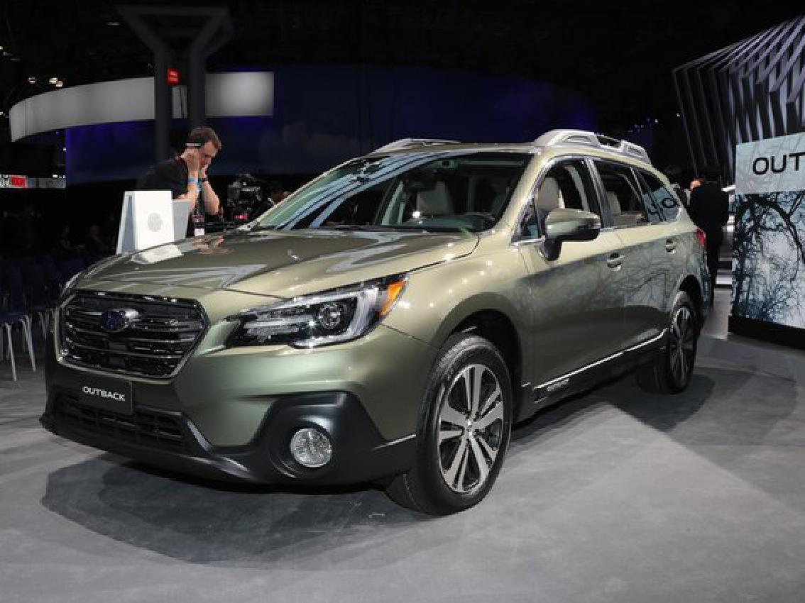 Subaru estrena el nuevo Outback en Nueva York