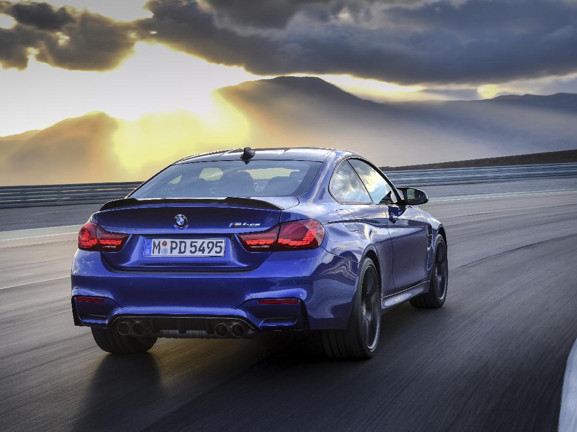 El nuevo BMW M4 CS