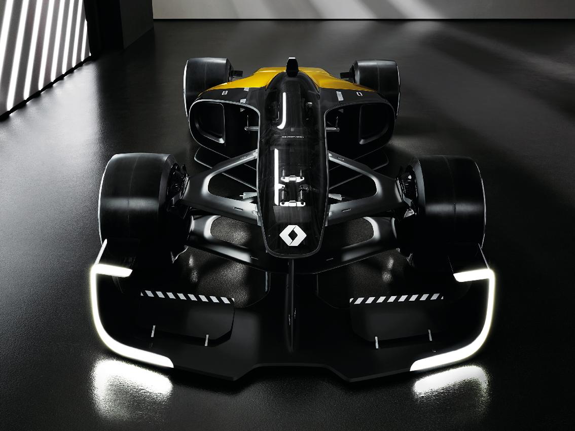 Renault explora el futuro de la F1 en el Salón del Automóvil de Shanghái 2017