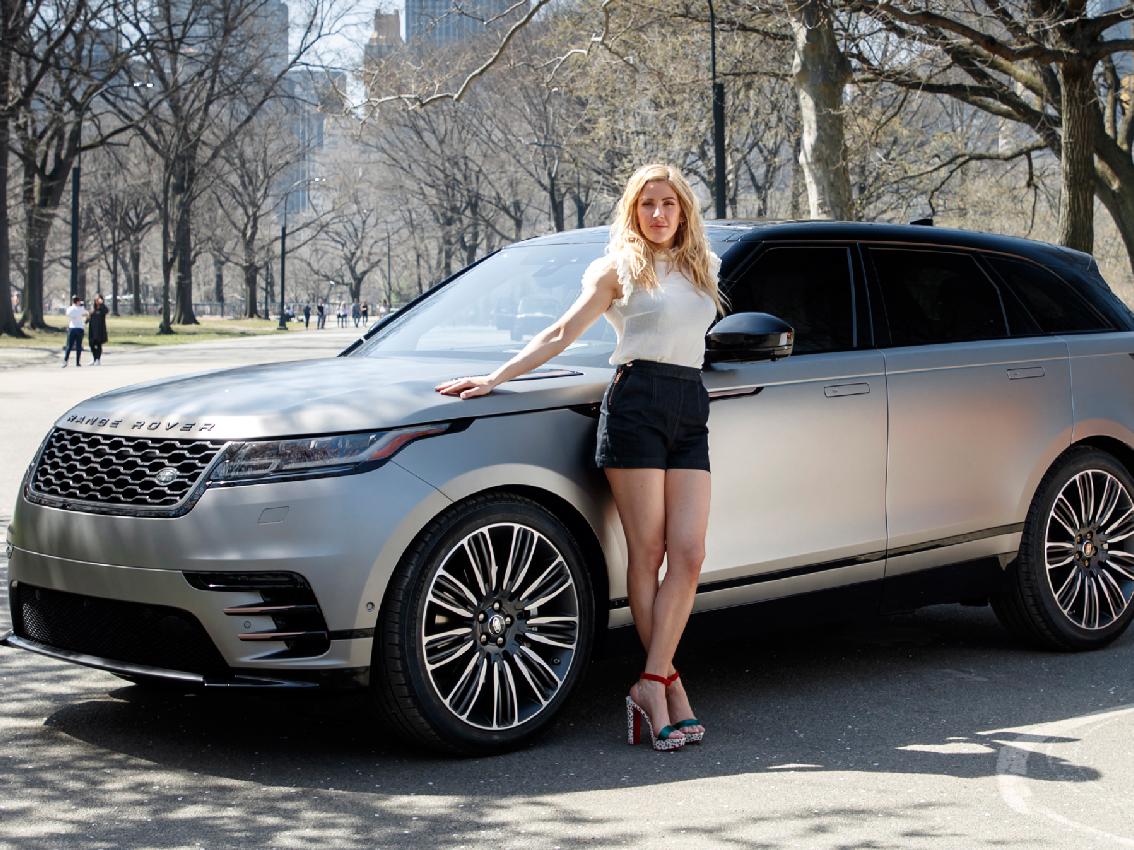 Range Rover Velar y Ellie Goulding triunfan en el Salón de Nueva York 2017