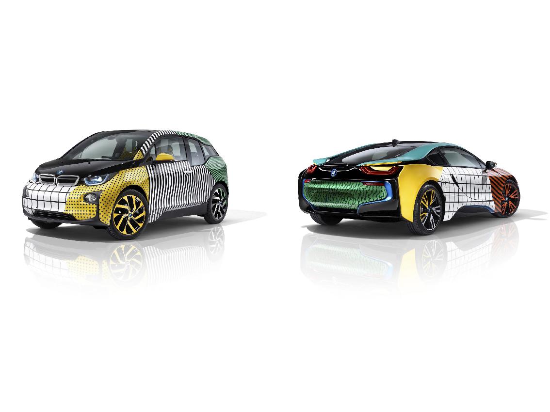 Garage Italia Customs y BMW i celebran el diseño de Memphis con una edición especial