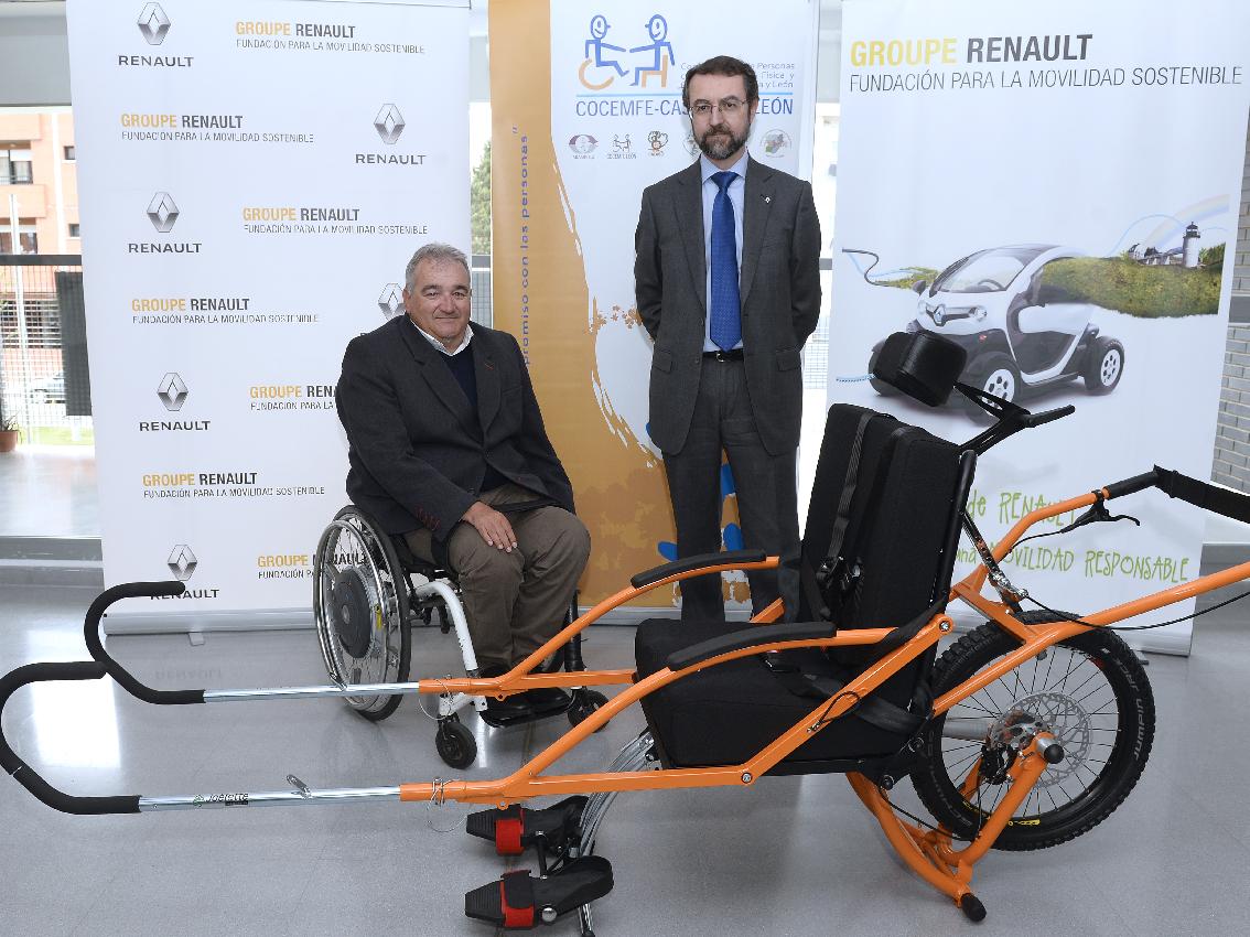 La Fundación Renault para la Movilidad Sostenible colabora con COCEMFE Castilla y León