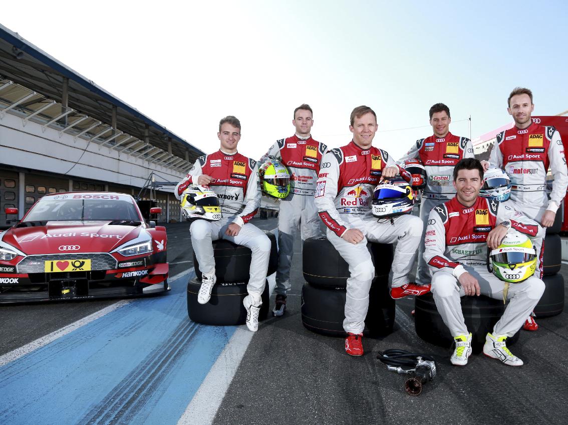 El nuevo Audi RS5 DTM debuta en competición