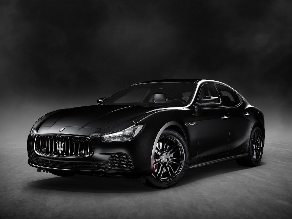 "Maserati presenta el Ghibli ""Nerissimo"" Black Edition"