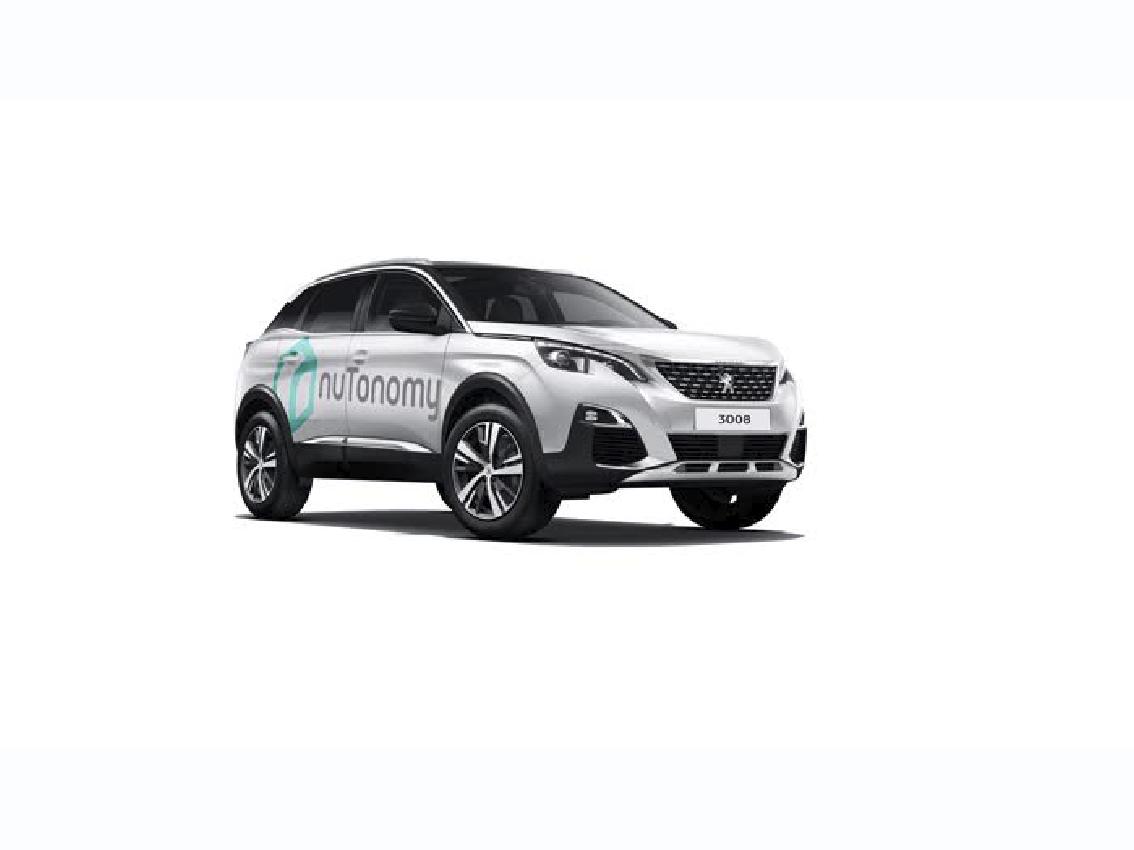 El Peugeot 3008 autónomo circulará en modo pruebas por Singapur