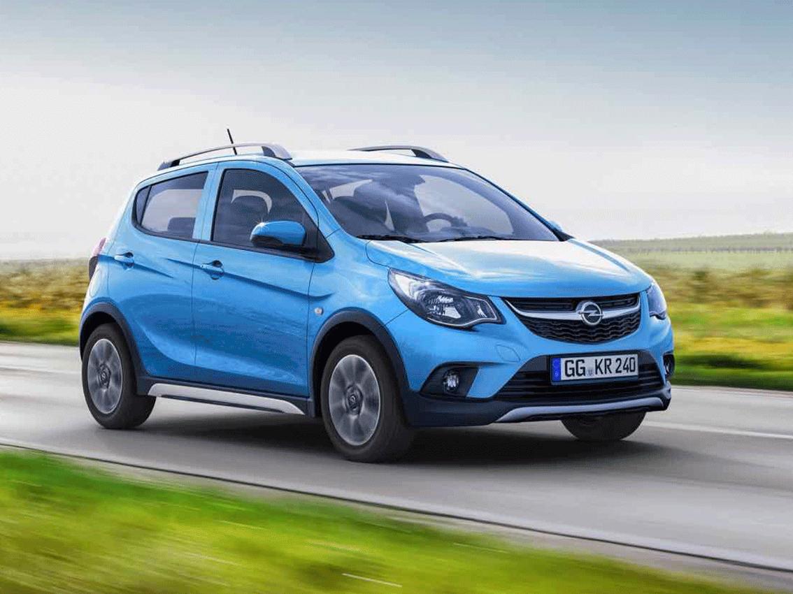 El nuevo Opel Karl Rocks: esencia SUV por doquier