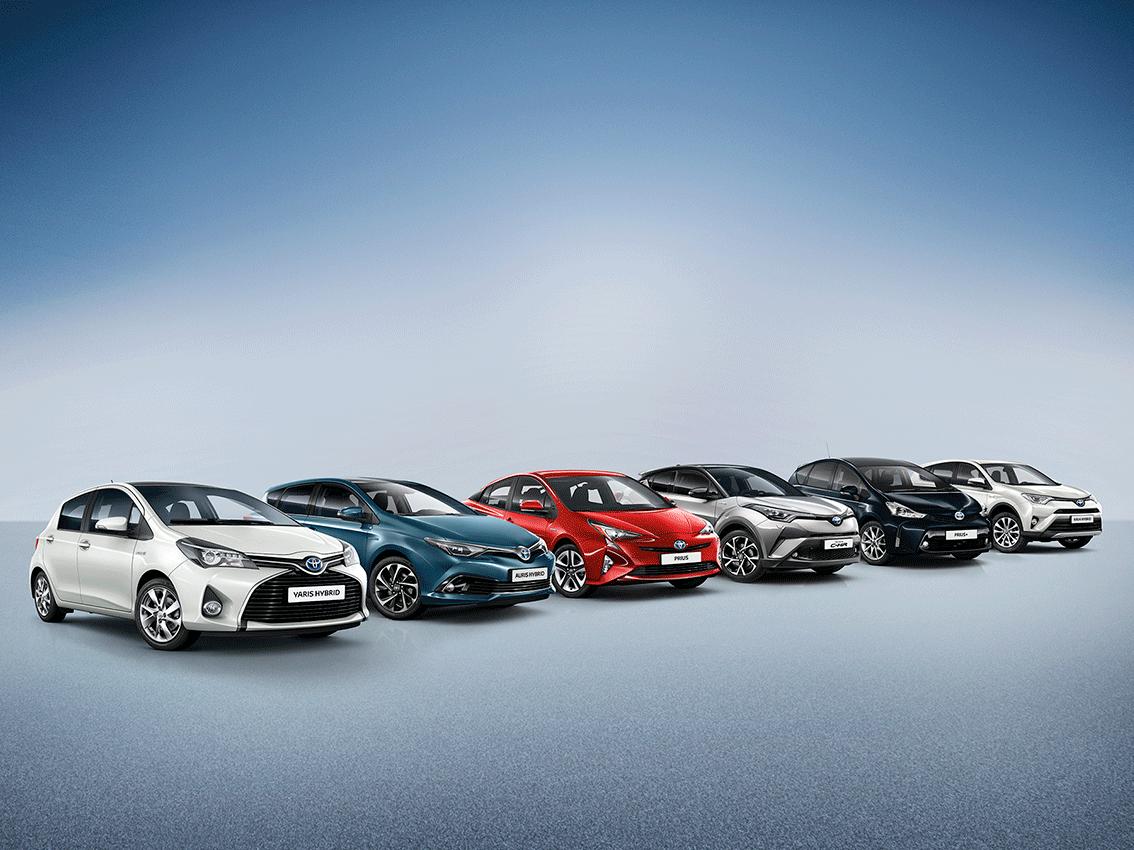 La gama híbrida Toyota es la gran protagonista en el Salón del Vehículo de Ocasión de Madrid 2017
