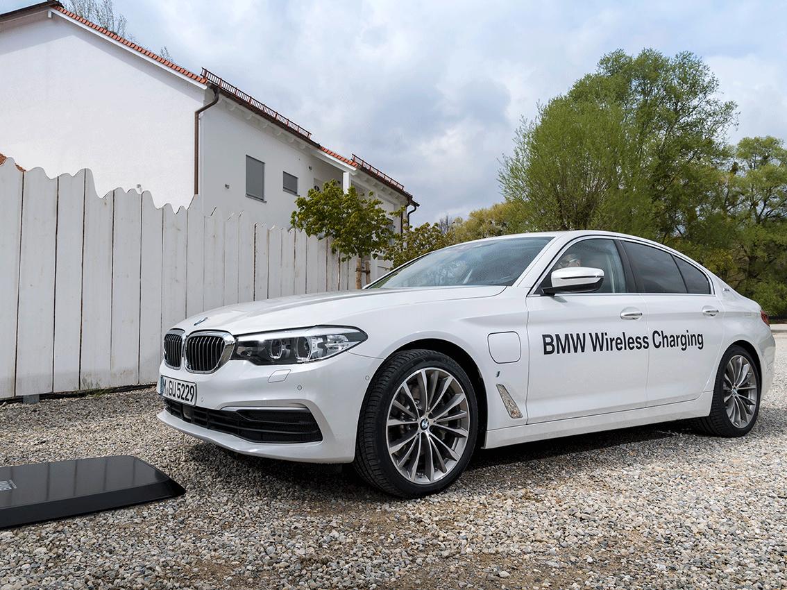 BMW es el primer fabricante de vehículos del mundo que ofrece un servicio de carga avanzado