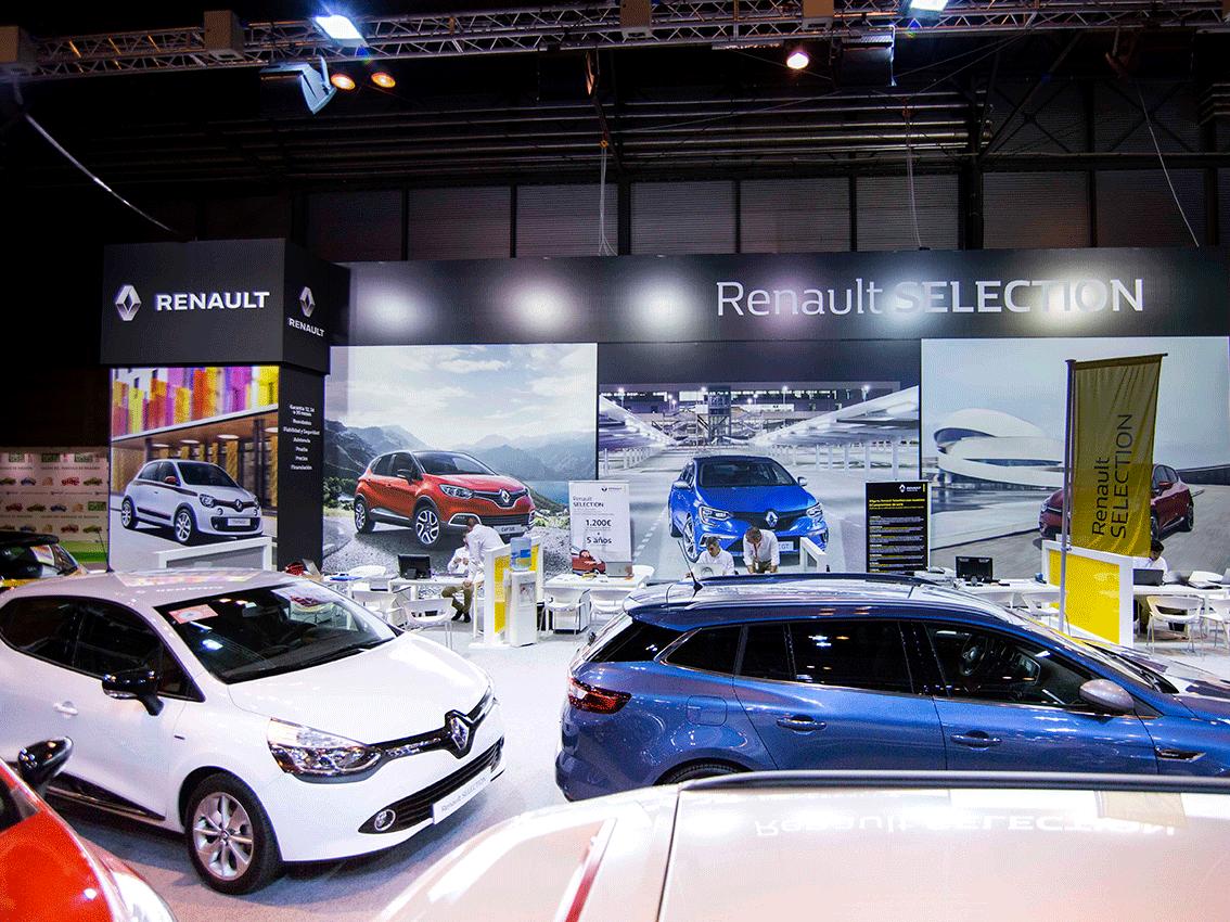 Renault presente en el Salón del Vehículo de Ocasión de Madrid