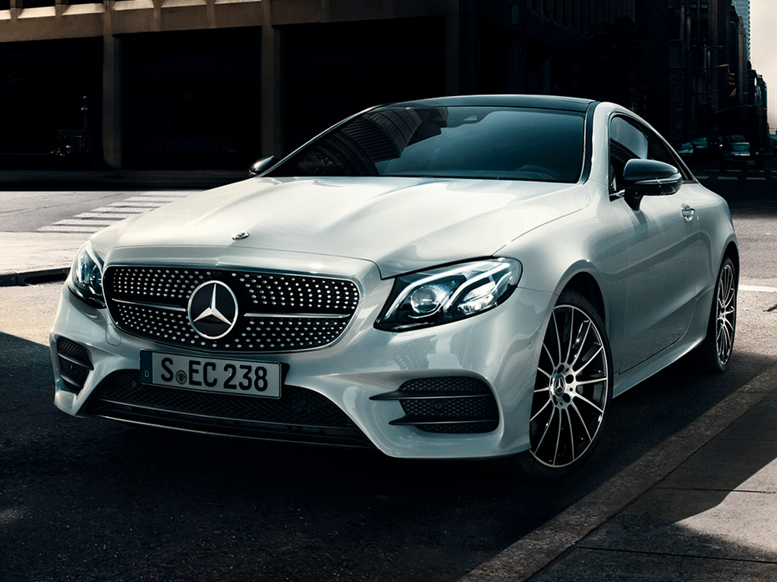 El Mercedes-Benz Clase E Coupé brilló en el Automobile Barcelona