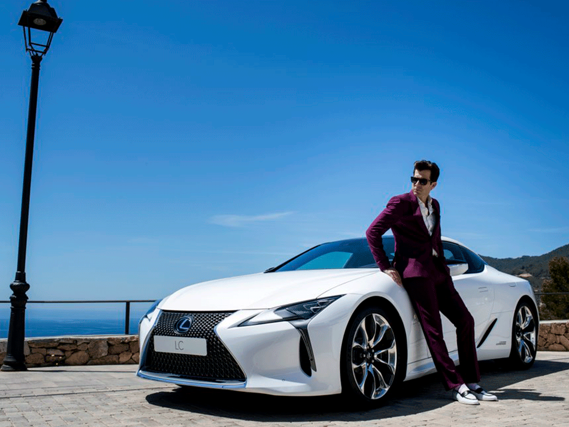 Lexus y Mark Ronson invitan a los fans a producir su propio tema en la experiencia de conducción definitiva