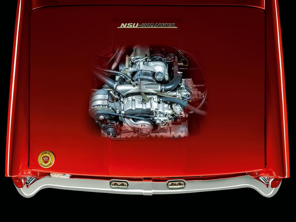 """Exposición en el Audi museum mobile: """"Revolución, 60 años del motor NSU/Wankel"""""""