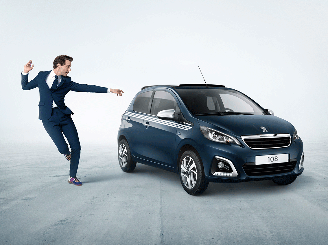 Nueva serie especial Peugeot 108 Collection