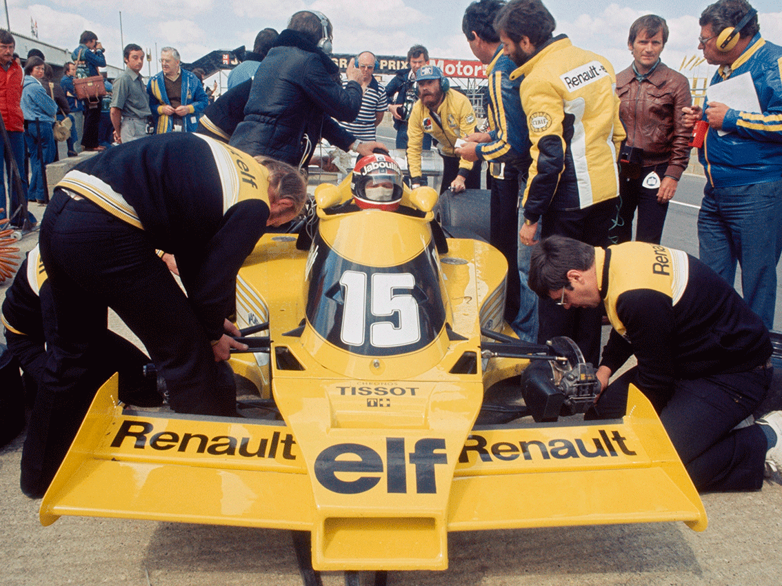 Renault celebra su 40º aniversario en Fórmula 1