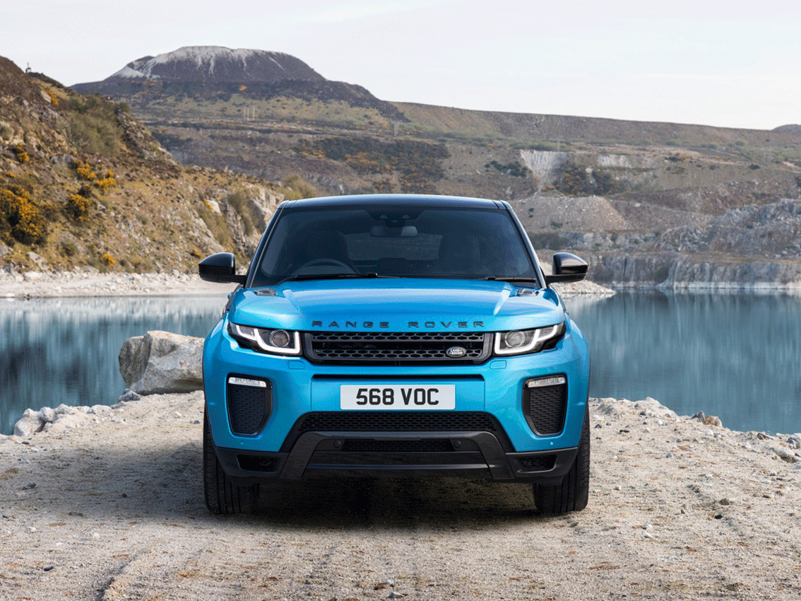 "Nou Range Rover Evoqui ""Landmark"""