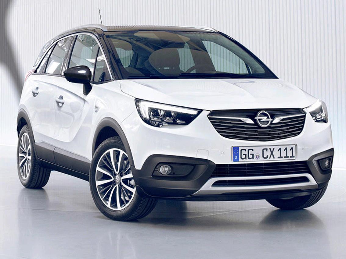 Nuevo Opel Crossland X: cambio de registro