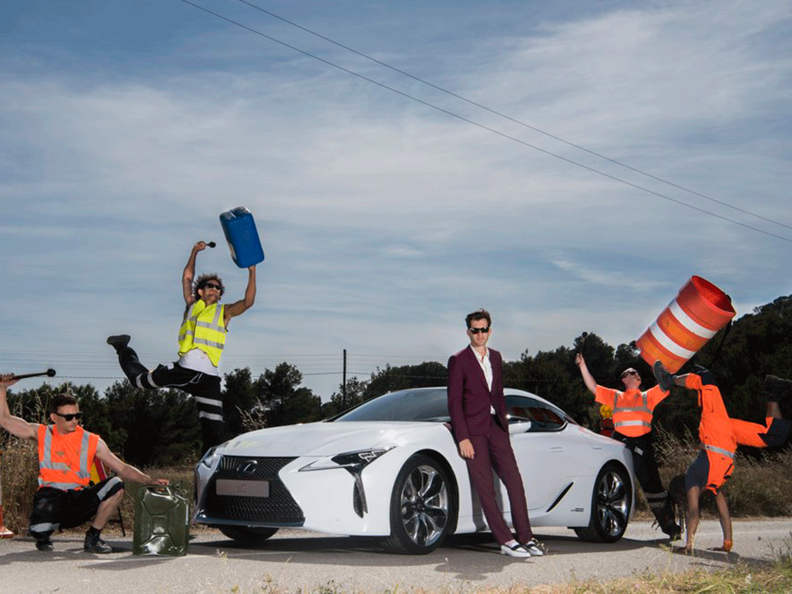 Sale a la luz el anuncio del Lexus LC500 rodado en Ibiza con Mark Ronson