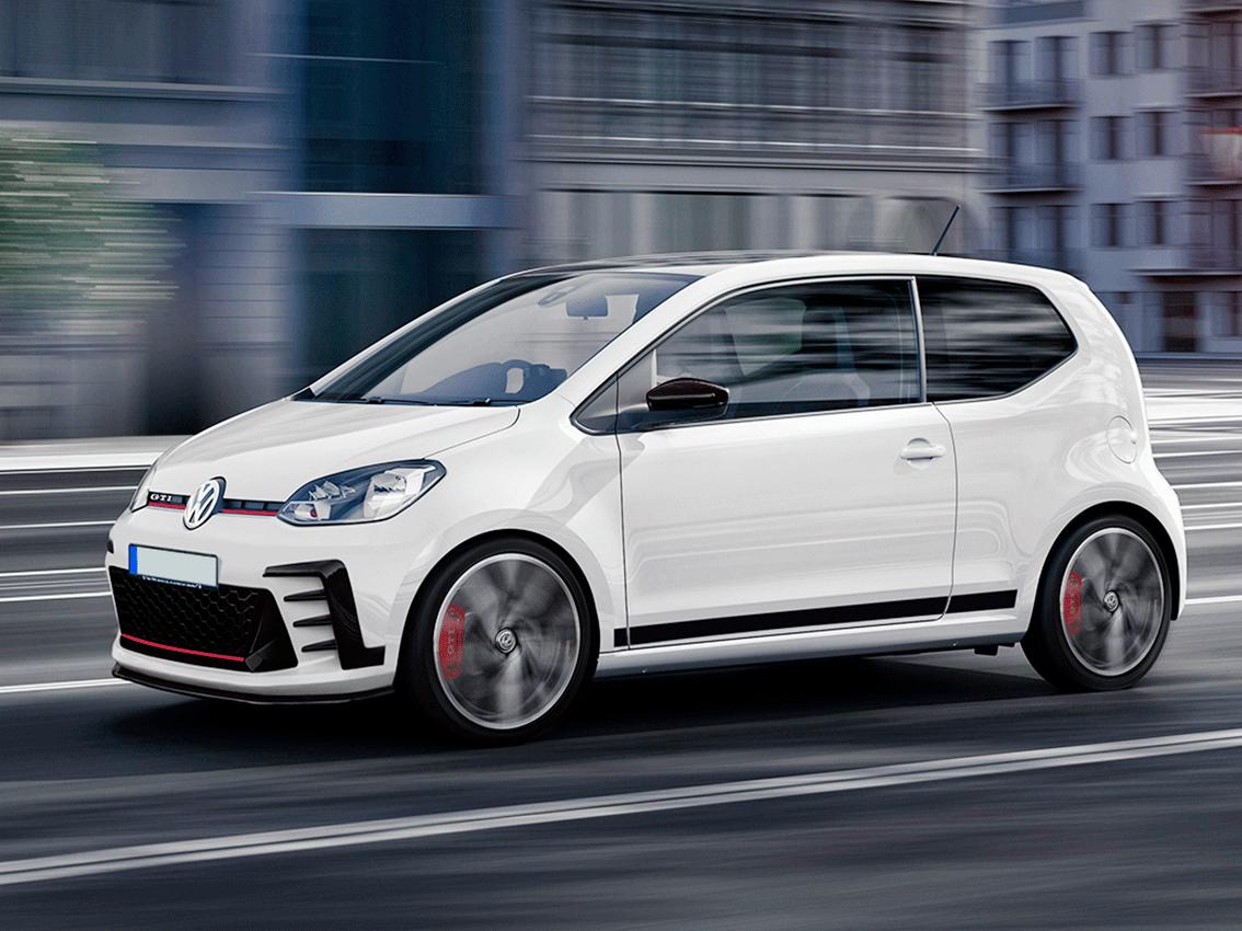 Estreno mundial del prototipo de pre-producción del nuevo up! GTI de Volkswagen