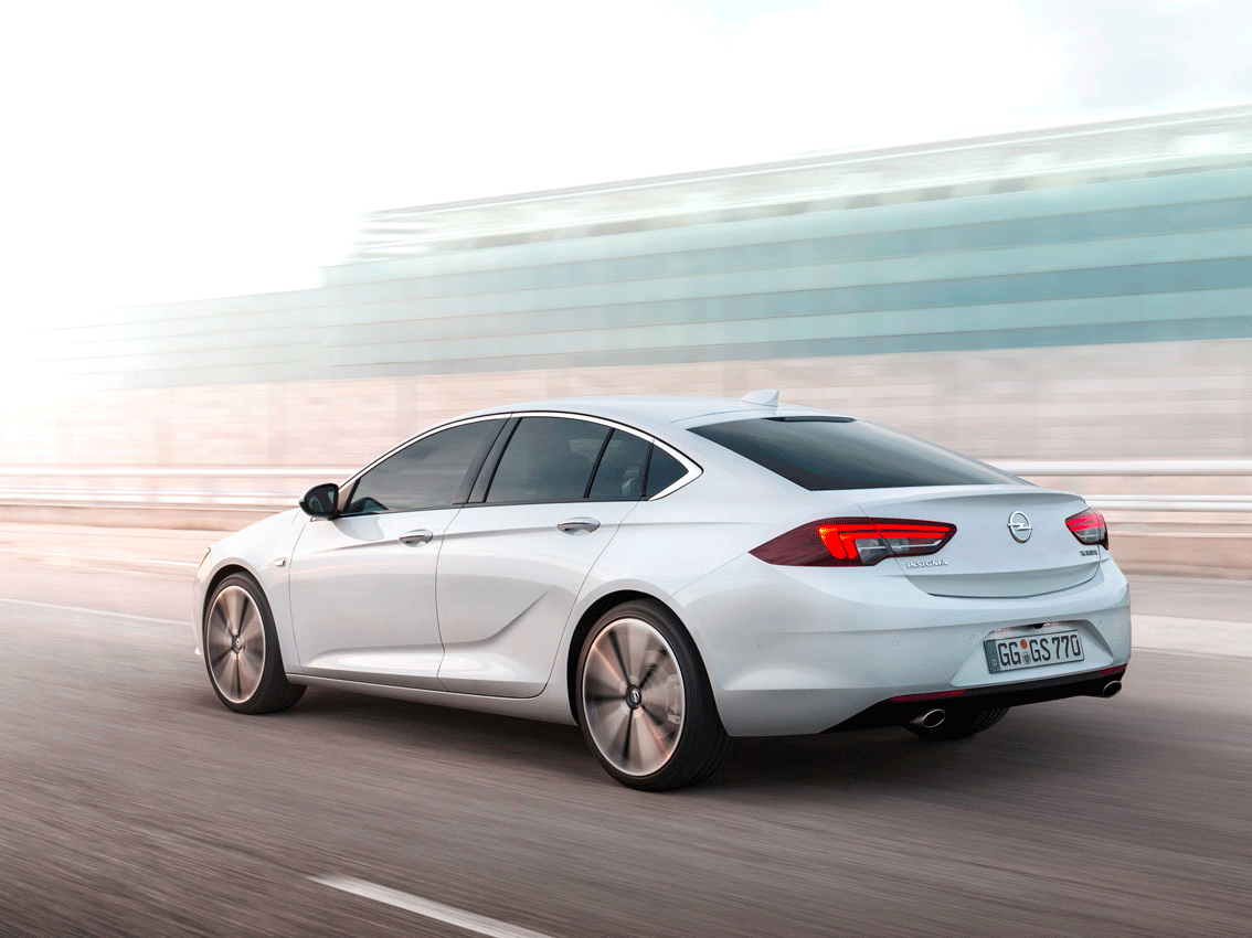 Opel Insignia Grand Sport 2017: ya a la venta