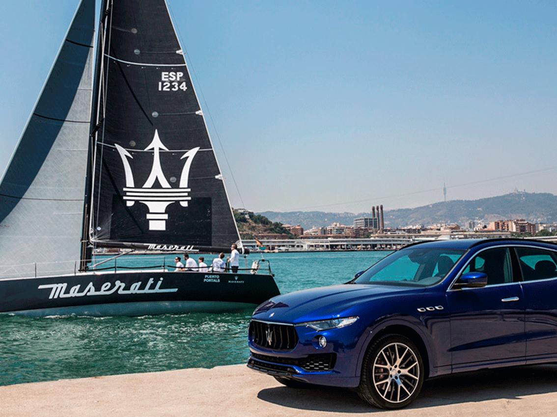 Maserati leva anclas en el Trofeo Conde de Godó