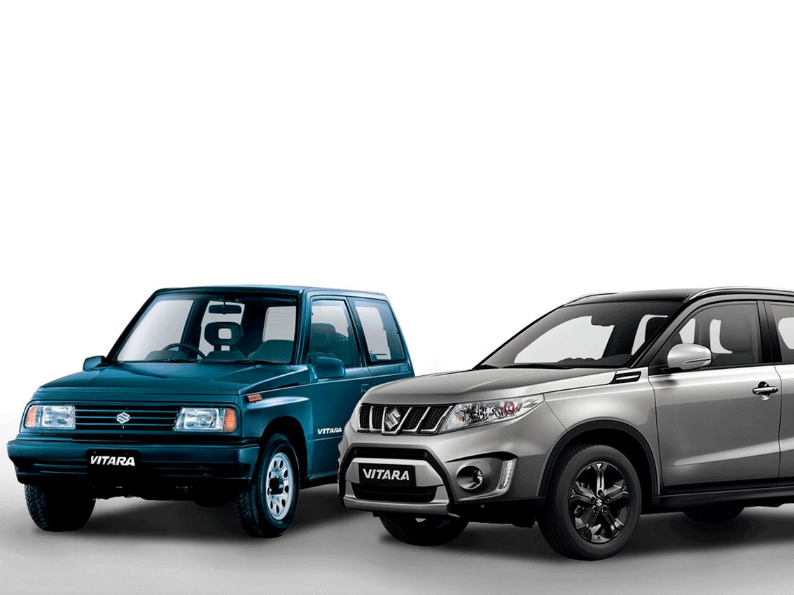 El Suzuki vitara ha alcanzado los 3 millones de unidades