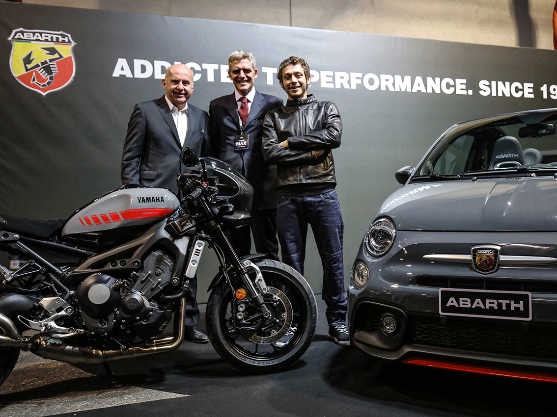 El concept car Abarth Tributo XSR