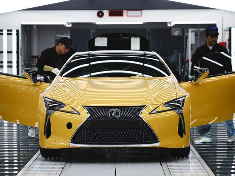 Lexus pone en marcha una nueva línea de producción del LC para Europa